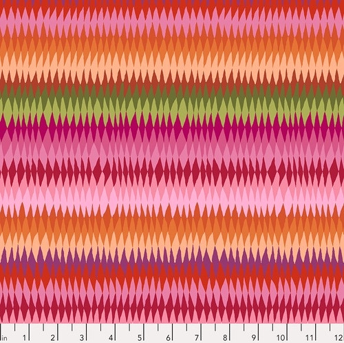 FREE SPIRIT - Kaffe Fassett Collective - Spring 2019 - Diamond Stripe - Pink