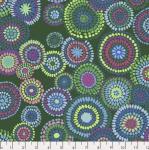 FREE SPIRIT - February 2020 - Kaffe Fassett Collective - Mosaic Circles - Green