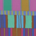 FREE SPIRIT - Kaffe Fassett - Artisan - Blue Layered Stripe
