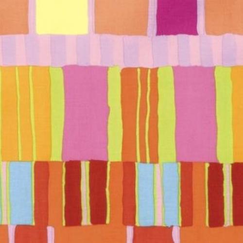 Skinny - SK2304- 1 1/8 yds - FREE SPIRIT - Kaffe Fassett - Artisan - Orange Layered Stripe