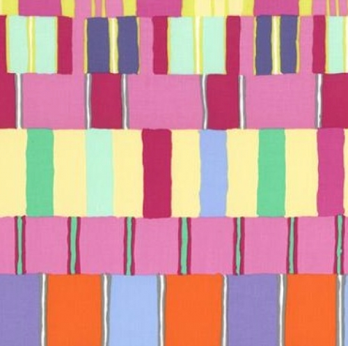 FREE SPIRIT - Kaffe Fassett - Artisan - Pink Layered Stripe