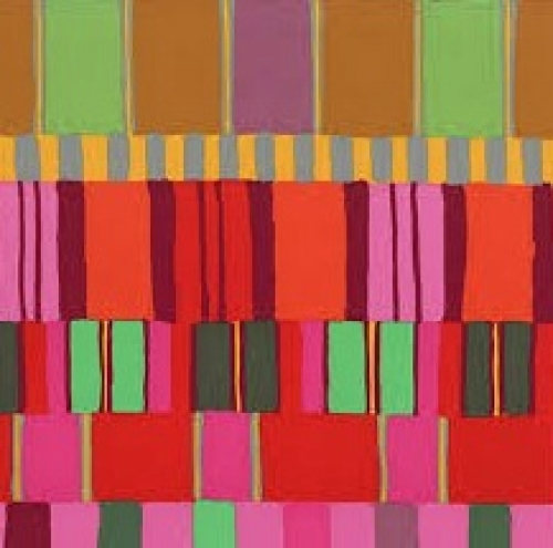 FREE SPIRIT - Kaffe Fassett - Artisan - Red Layered Stripe