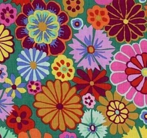 FREE SPIRIT - Kaffe Fassett - Artisan - Multi Folk Flower
