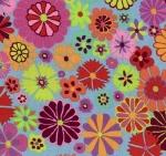 FREE SPIRIT - Kaffe Fassett - Artisan - Pink Folk Flower
