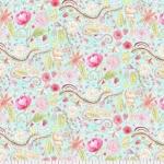 FREE SPIRIT - The Dress - Garden - Aqua - Laura Heine #208