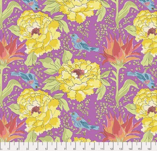 FREE SPIRIT - Color Fusion - Laura Heine - Bird of Paradise - Violet