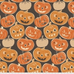 FREE SPIRIT - Spooktacular by Maude Asbury - Pumpkintopia - Black