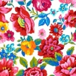 FREE SPIRIT - Confettis - White Floral