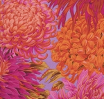 FREE SPIRIT - Kaffe Fassett - Philip Jacobs - Japanese Chrysanthemum - Pink