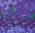 FREE SPIRIT - Kaffe Fassett - Philip Jacobs - Japanese Chrysanthemum - Purple
