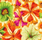 FREE SPIRIT - Kaffe Fassett - Philip Jacobs - Petunias - Orange
