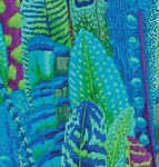 FREE SPIRIT - Kaffe Fassett - Philip Jacobs - Feathers - Green