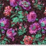 FREE SPIRIT - Kaffe Fassett -Spring 2018 -  Baroque Floral - Black