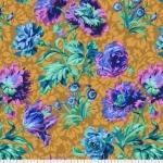 FREE SPIRIT - Kaffe Fassett -Spring 2018 -  Baroque Floral - Blue
