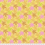 FREE SPIRIT - Kaffe Fassett - Spring 2018 - Lacy Leaf - Yellow