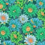FREE SPIRIT - Kaffe Fassett Collective - Spring 2019 - Cactus Flower - Green