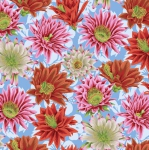 FREE SPIRIT - Kaffe Fassett Collective - Spring 2019 - Cactus Flower - Multi