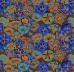 FREE SPIRIT - Kaffe Fassett Collective - Spring 2019 - Variegated Morning Glory - Blue