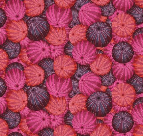 FREE SPIRIT - Kaffe Fassett Collective - Spring 2019 - Sea Urchins - Red