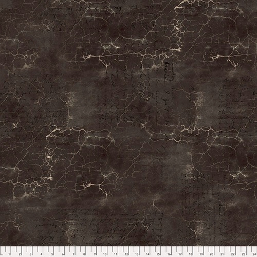 FREE SPIRIT - Abandoned by Tim Holtz - Cracked Shadow - Black