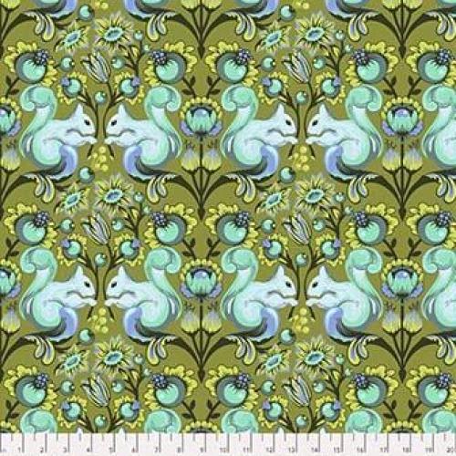 FREE SPIRIT - Tula Pink - All Stars - Squirrel - Fern - FB7723-