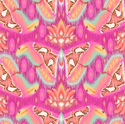 FREE SPIRIT - Tula Pink - Eden - Atlas - Tourmaline - FB4821-