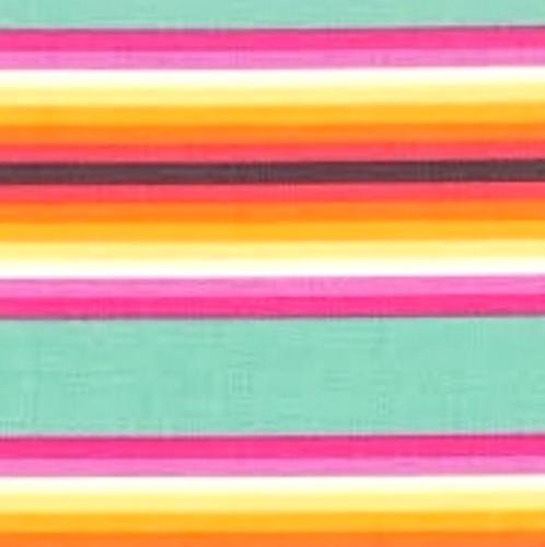 FREE SPIRIT - Tula Pink - Chipper - Tick Tock Stripe - Sorbet - #191