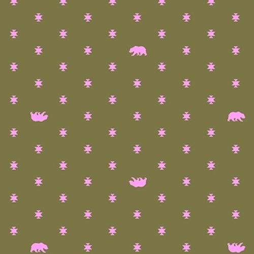 FREE SPIRIT  - Tula Pink - Spirit Animal - Bears Hug #167