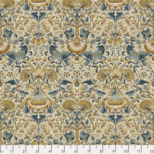 FREE SPIRIT - Bloomsbury - Morris & Co - Lodden Teal
