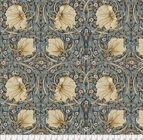 FREE SPIRIT - Bloomsbury - Morris & Co - Pimpernel Teal