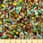 HOFFMAN - Leaf Me Be - Spectrum Digital Print - August - #2423-