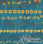 HOFFMAN - Can't Stop Falling - Teal/Gold - Stripes