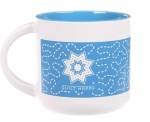 MUG - Quilt Happy Meandering Mug-Blue