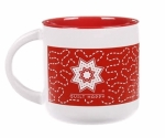 MUG - Quilt Happy Meandering Mug-Red