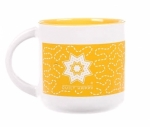 MUG - Quilt Happy Meandering Mug-Sunshine