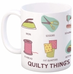 MUG - Quilt Happy Quilty Things Mug