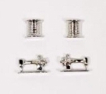 Thread Machine Earrings Set 2 ct Silver by The Quilt Spot