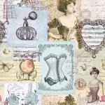 STOF - Digital Print - Belle Epoque 1 - Multi Colore