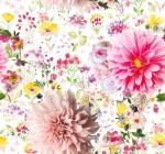 STOF - Digital Print - Un Jour En Ete 1 - Rose