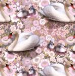 STOF - Digital Print - Lac Des Cygnes 1 - Rose