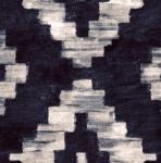 STOF - Digital Print - Shibori 1 - Bleu