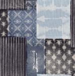 STOF - Digital Print - Shibori 2 - Bleu