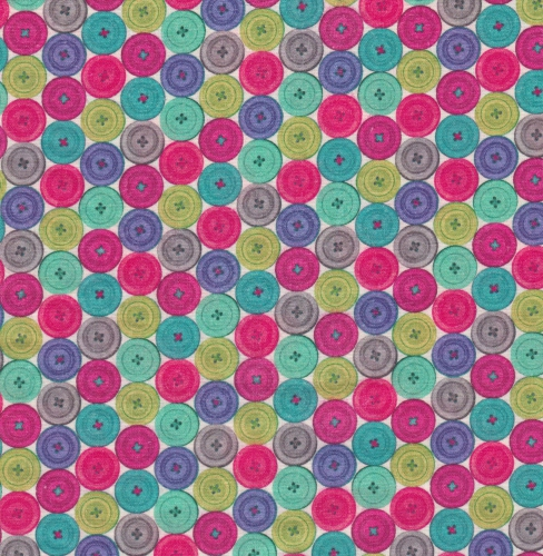 STOF - Digital Print - Couture 2 - Multi Colore