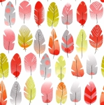 STOF - Digital Print - Plumette - Multi Colore