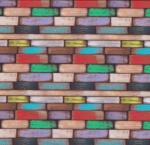 STOF - Digital Print - Santorin 3 - Multi Colore