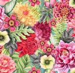 STOF - Digital Print - Colibri 3 - Multi Colore