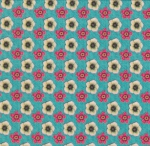 STOF - Digital Print - Colibri 4 - Bleu