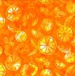 HOFFMAN - Bali Batik - Graphic Citrus - Tangerine - K35024-
