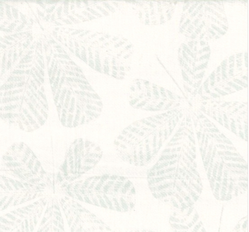 HOFFMAN - Bali Batik - Textured Big Leaf - Ice Blue - K60014-