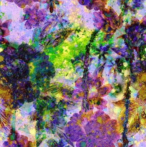 HOFFMAN - Spectrum Print - Purple Haze